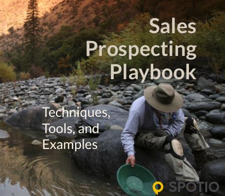 Sales Prospecting Playbook